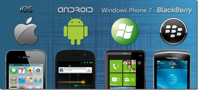 various mobile operating system